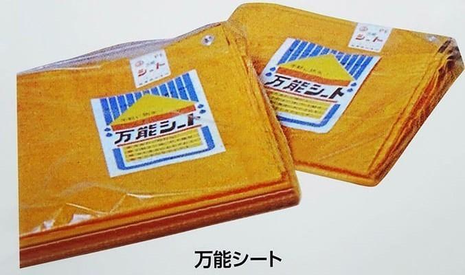 台風で大活躍の「ブルーシート」 最初はオレンジ色だったそうです!?