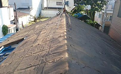 タフビーム(縦葺屋根)
