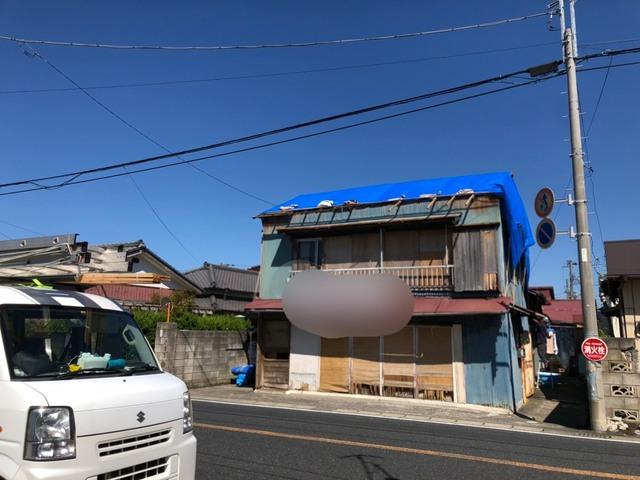 🌀館山にて、台風19号に向けた台風養生🌀