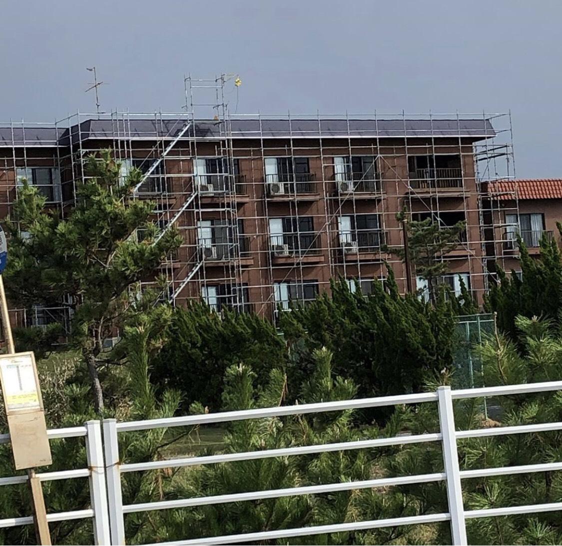 千葉県館山市 ホテル 工事完了です