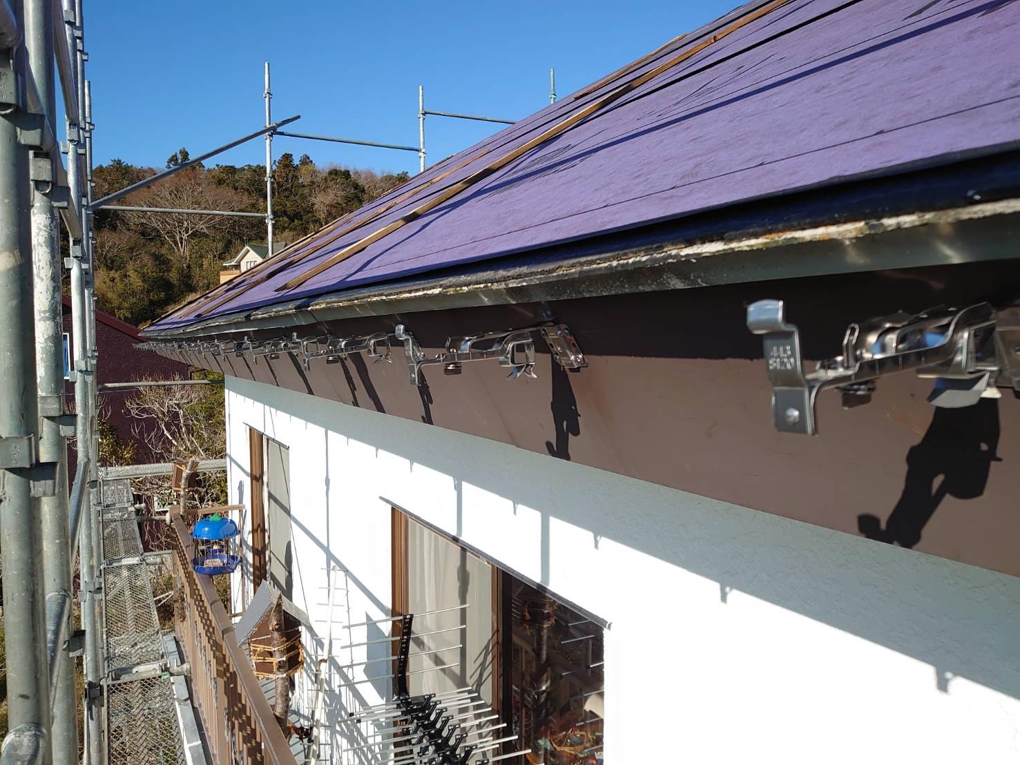 千葉県鴨川市にて雨樋工事完了です!!