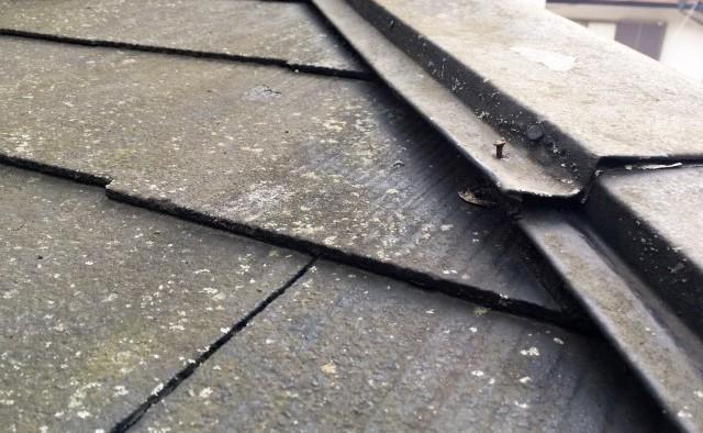 台風による棟破損で保険対応雨漏り屋根工事